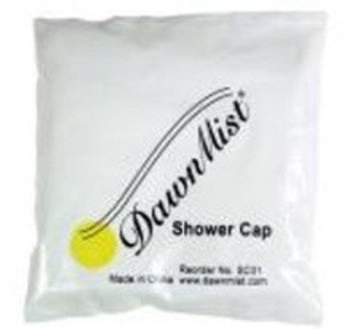 DawnMist Clear Shower Cap One Size Fits Most
