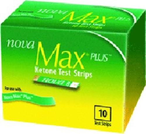 nova max ketone test strips