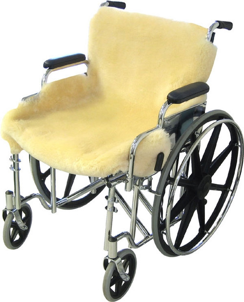 Sheepskin Wheelchair Seat Cover