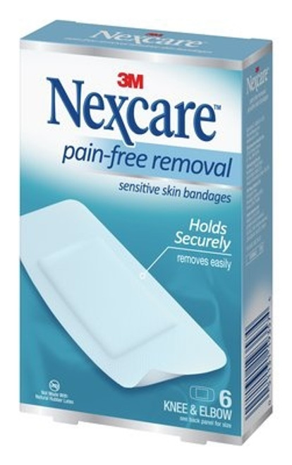 Adhesive Strip Nexcare Knee Elbow White
