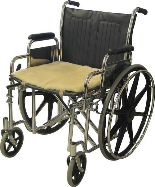 "Sheepskin Seat Pad - 18"" x 16"""