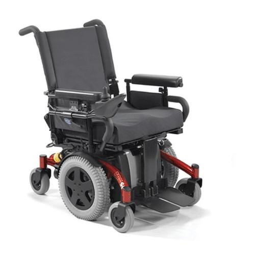 TDX SI-HD Power Wheelchair - Rehab Seat - Blue
