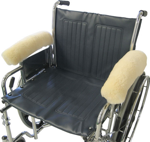 Sheepskin Wheelchair Full Arm Rests Covers