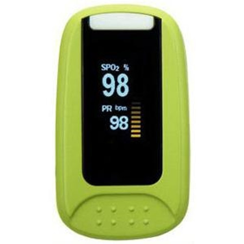 Simpro Fingertip Pulse Oximeter with Two Color OLED Display