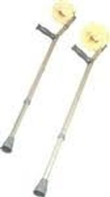 Sheepskin Forearm Crutches Kit