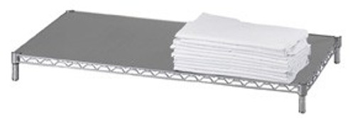 Solid 18x36 16 gauge Chrome Plated Shelf