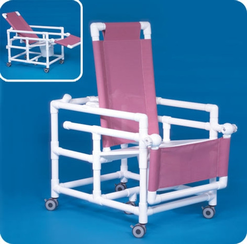 Reclining Shower Chair Commode - SCC250RCFS