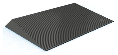EZ-ACCESS, Rubber Threshold Ramp with Beveled Sides