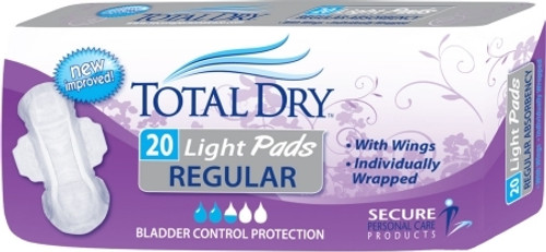 Secure Personal Care Products TotalDry Bladder Control Pad