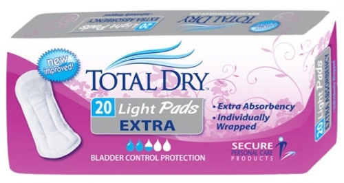 Secure Personal Care Products TotalDry Bladder Control Pad 1