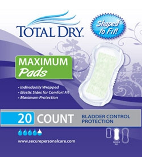 Secure Personal Care Products TotalDry Bladder Control Pad 5