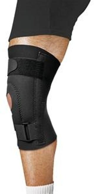Leader Neoprene Deluxe Patellar Knee Support, Black, Small - Item #: SS4914727