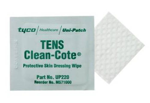 Clean-Cote Protective Skin Dressing Wipes