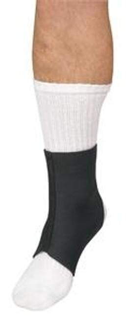 Leader Neoprene Ankle Support, Black, Large - Item #: SS4914826