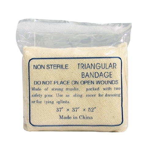 Triangular Bandage DUKAL Woven Cotton Muslin Gauze