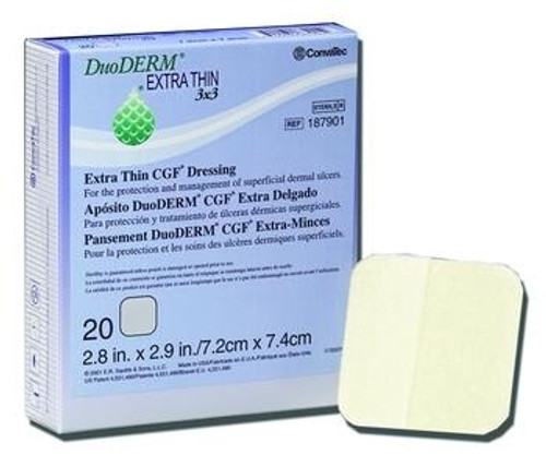 DuoDERM Extra Thin CGF Dressing - Square