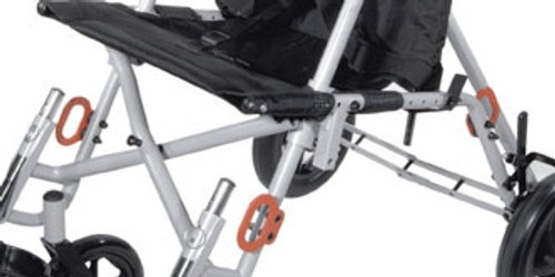 Bus Transit Tie-Downs for Wenzelite Trotter Convaid Style Mobility Rehab Stroller