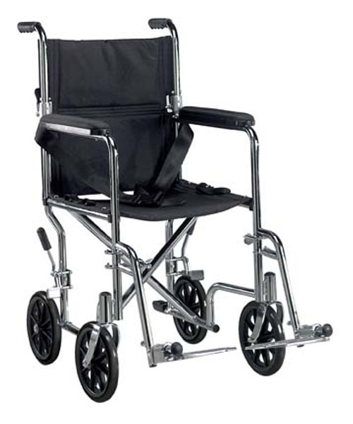 Drive Go-Kart Steel Transport Wheelchair
