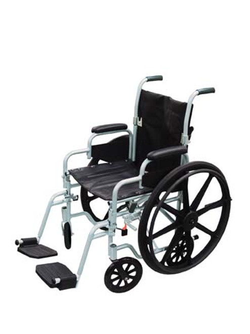 Drive Poly-Fly Transport Chair Wheelchair