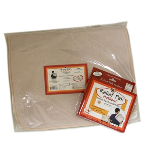relief pak hotspot moist heat pack and cover set