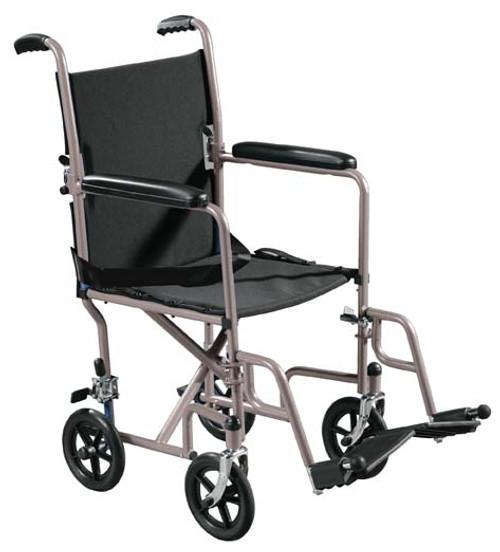 Drive Lightweight Steel Transport Wheelchair