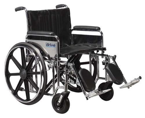 Drive Sentra Extra Heavy Duty Wheelchair