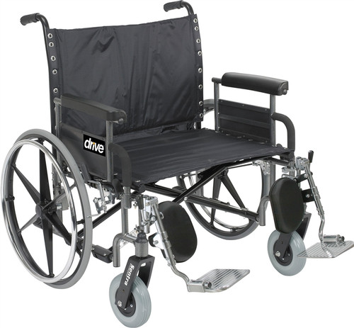 Drive Sentra Extra Wide Heavy Duty Wheelchair