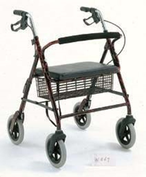 Merits Health Products Bariatric 4 Wheel Rollator 1
