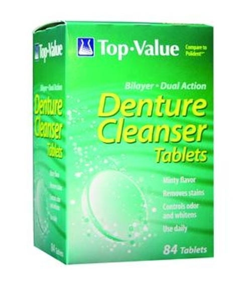 polident denture tab 84ct