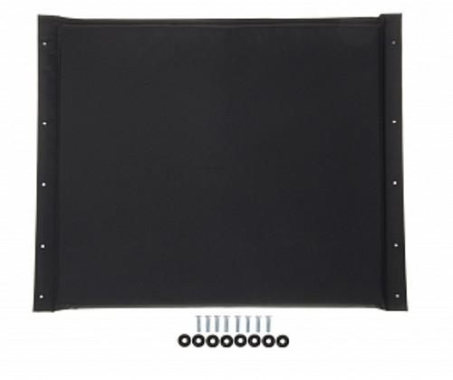 "K4 22"" Wheelchair Seat Upholstery, Black"