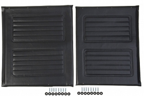 "20"" Wheelchair Upholstery Set, Black"