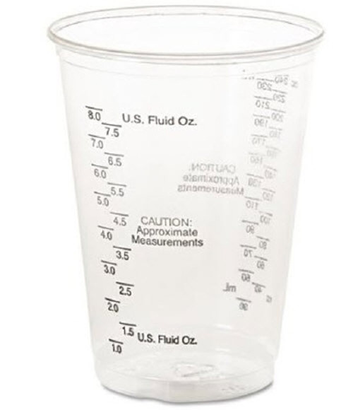 Solo Ultra Clear Graduated Drinking Cup, 10 oz.