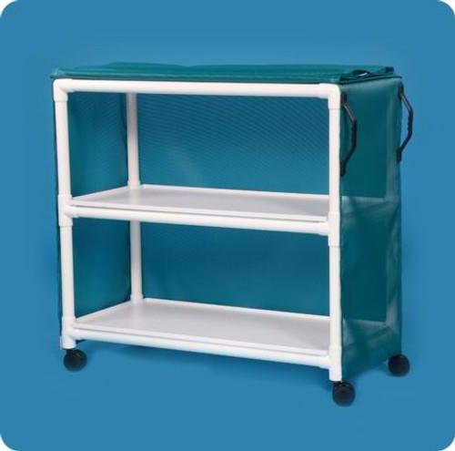 "Standard Line Linen Cart With Two 45"" X 20"" Shelves"