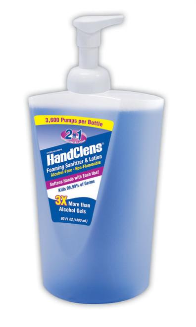 HandClensðð Alcohol-Free Instant Hand Sanitizers, Blue