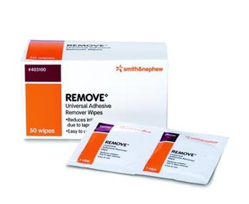 remove adhesive remover wipe