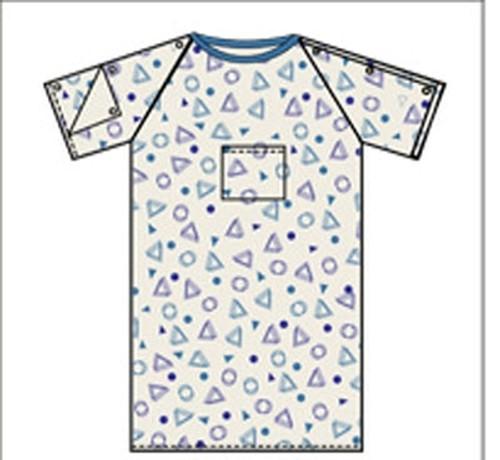 Lew Jan Textile Exam Gown 3