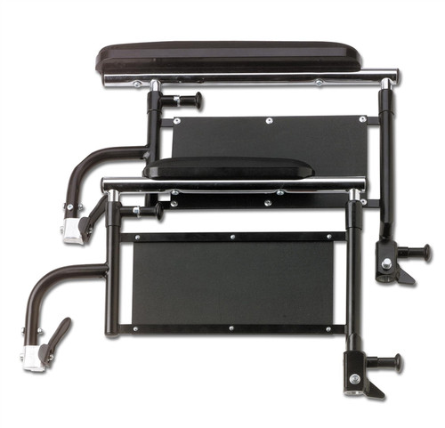 K4 Wheelchair Height Adjustable Removable Full-Length Arms