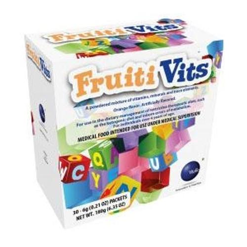 Vitaflo USA FruitiVits Powder Orange 6g VF51325