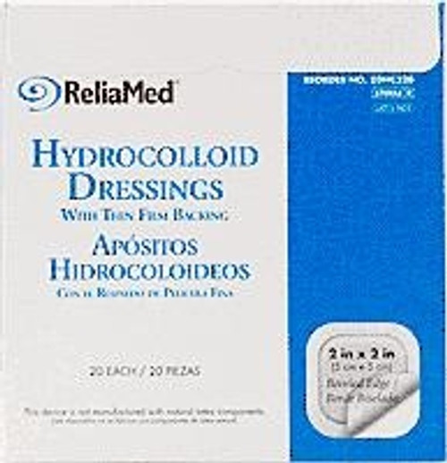 ReliaMed Hydrocolloid Dressings - Film Backed