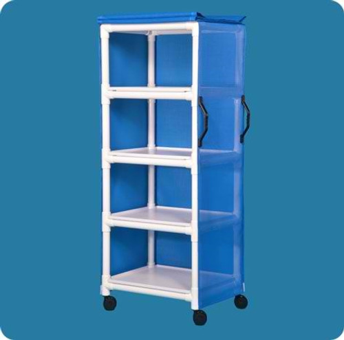 "Standard Line Multi-Purpose Cart - Four Shelves - 26"" X 20"""