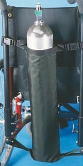 Oxygen Tank Holder for Wheelchair, Black