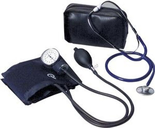 Self Monitoring Home Blood Pressure Kit with Unattached Stethoscope