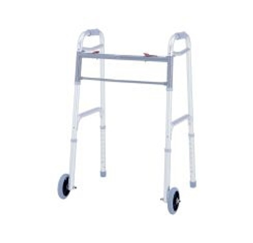 Merits Health Products Deluxe Dual Release Folding Walker 1