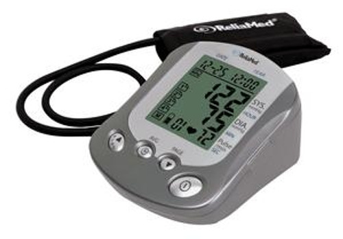ReliaMed Automatic Digital Blood Pressure Monitor with Wide Range Cuff