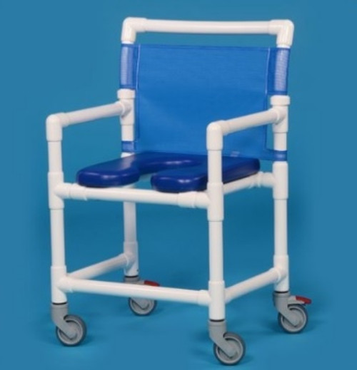 Oversize Open Front Soft Seat Shower Chair - VLOF9200OS