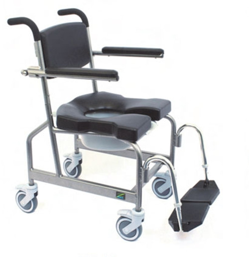 JAZ-AP Rehab Shower Commode Chair