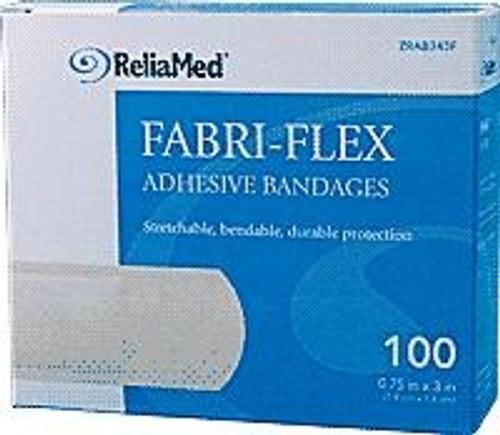 ReliaMed Adhesive Bandages - Fabri Flex