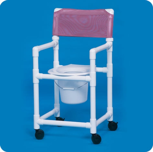 Standard Line Shower Chair Commode - VLSC17P