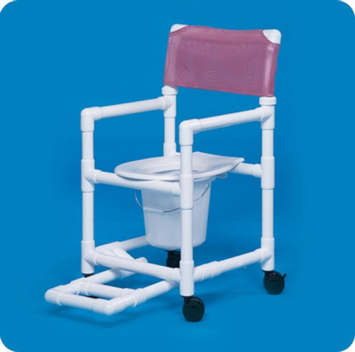 Standard Line Shower Chair Commode - VLSC17PFR