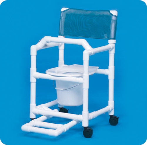 Standard Line Shower Chair Commode - VLSC17PFRLB